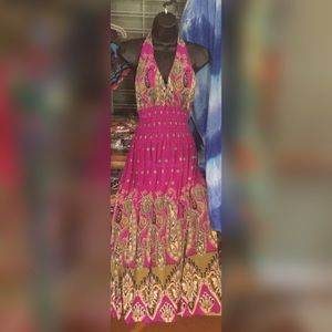 Fashion Ace Dresses - Halter Maxi Dress